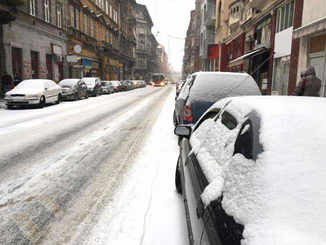 A nagyvárosokban a forgalom fejtörést okozhat - főleg téli időszakban