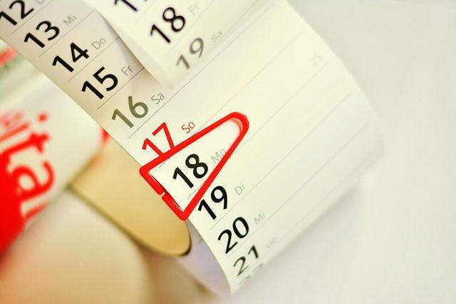 Jegyezze fel a zavaró események időpontját