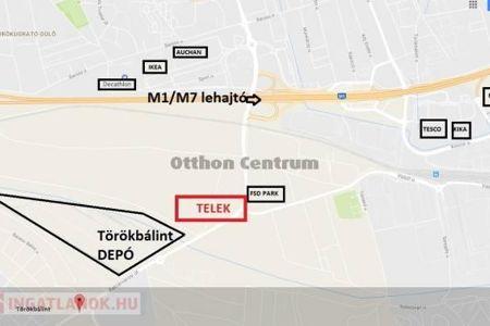 Eladó  telek/földterület Törökbálint, 95.271.000 Ft, 5.774 m<sup>2</sup>