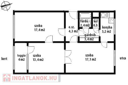 Eladó  lakás Budapest XI. ker, 37.000.000 Ft, 65 négyzetméter