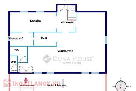 Eladó  iroda/üzlethelyiség Kecskemét, 109.000.000 Ft, 358 négyzetméter