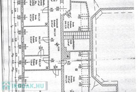 Eladó  iroda Budapest XVIII. ker, 270.000.000 Ft, 550 négyzetméter