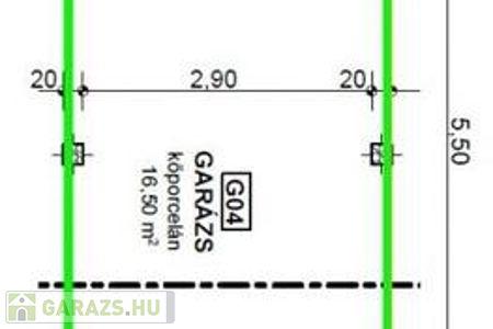 Eladó  garázs Szeged, 4.499.000 Ft, 17 négyzetméter
