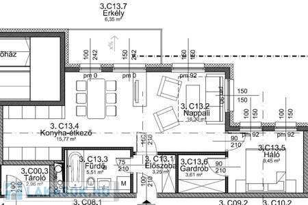 Eladó  lakás Budapest IX. ker, 48.474.247 Ft, 60 négyzetméter