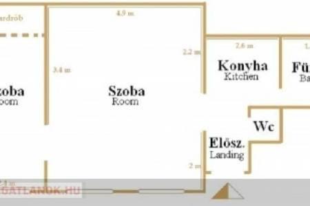 Eladó  lakás Budapest V. ker, 47.900.000 Ft, 50 négyzetméter