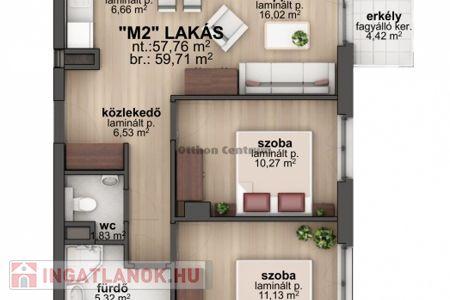 Eladó  lakás Budapest VIII. ker, 59.347.199 Ft, 58 négyzetméter