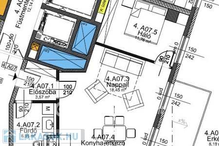 Eladó  lakás Budapest IX. ker, 46.832.782 Ft, 59 négyzetméter