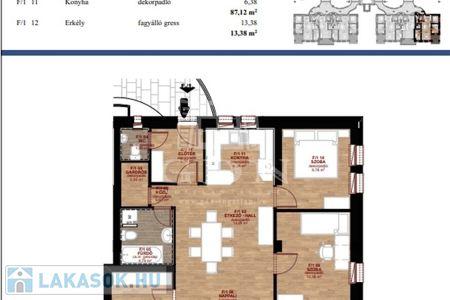 Eladó  lakás Miskolc, 56.500.000 Ft, 87 négyzetméter