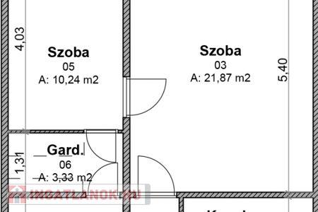 Eladó  lakás Budapest XIV. ker, Rákosfalva, 31.750.000 Ft, 46 négyzetméter