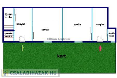 Eladó  családi ház Budapest XX. ker, 22.500.000 Ft, 52 négyzetméter