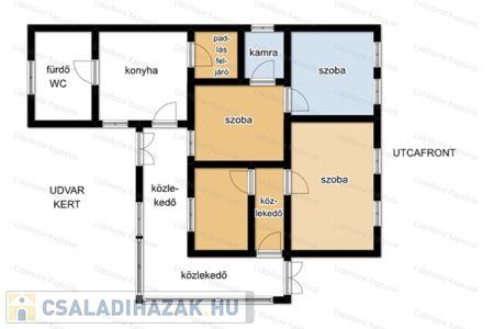 Eladó  családi ház Kaposvár, 18.000.000 Ft, 130 négyzetméter