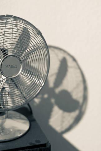A ventillátor a klíma mellé jól jöhet