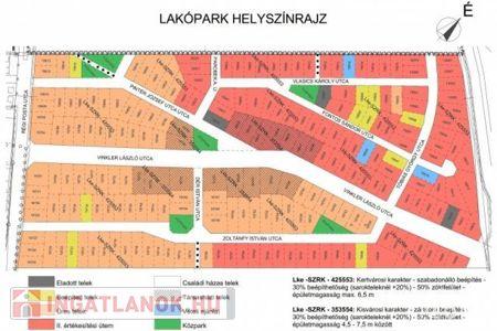 Eladó  telek/földterület Szeged, 16.932.000 Ft, 996 m<sup>2</sup>