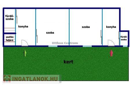 Eladó  ház Budapest XX. ker, 22.500.000 Ft, 52 négyzetméter