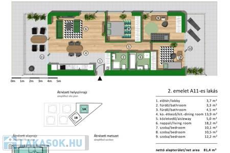 Eladó  lakás Budapest XX. ker, 59.990.000 Ft, 81 négyzetméter