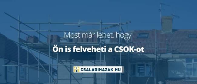 Bővültek a CSOK-ra számítók lehetőségei